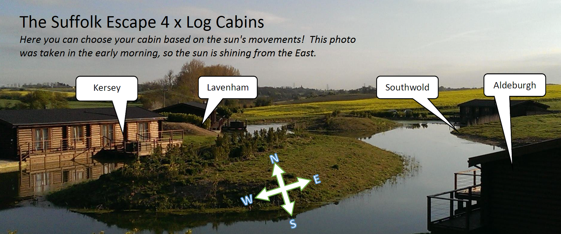 Log Cabin Site Layout