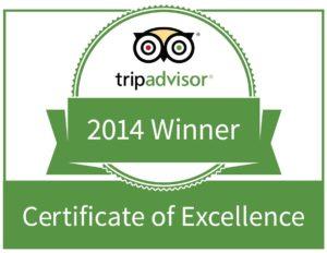 Trip Advisor Excellence Logo