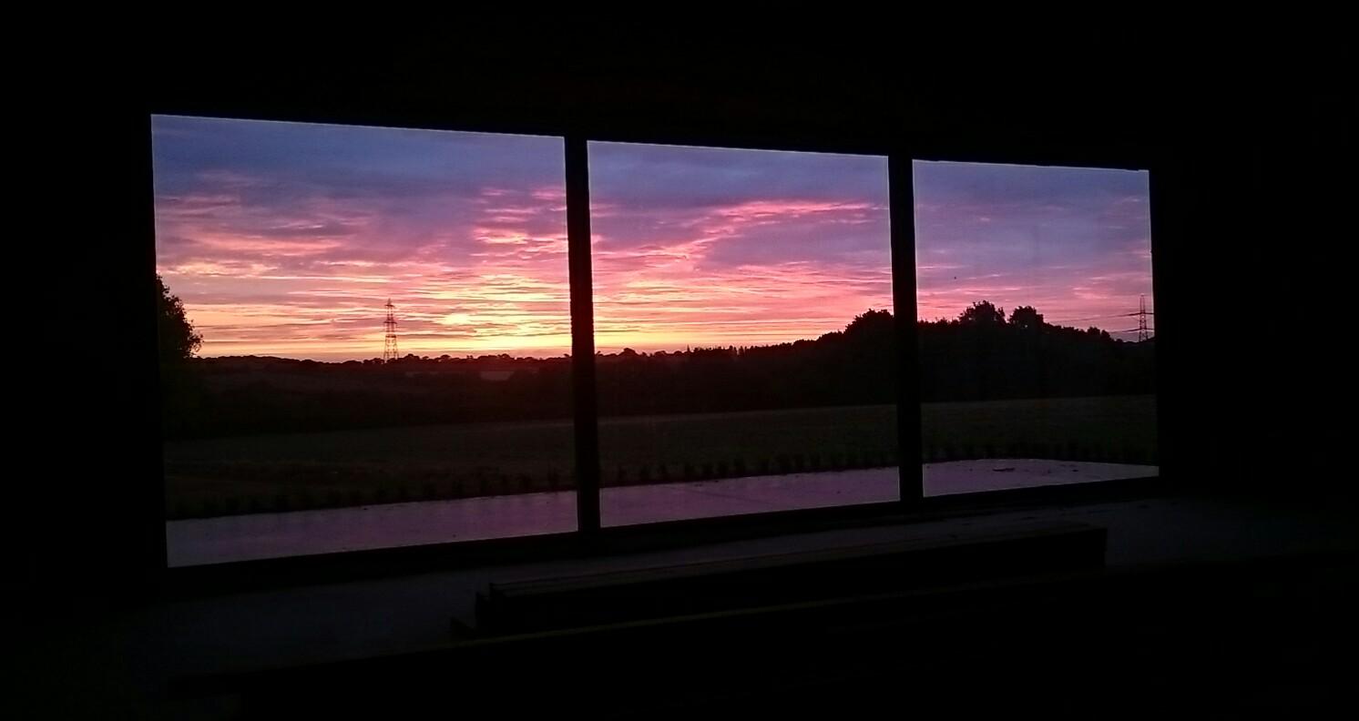 Sheepyard Barn Sunrise