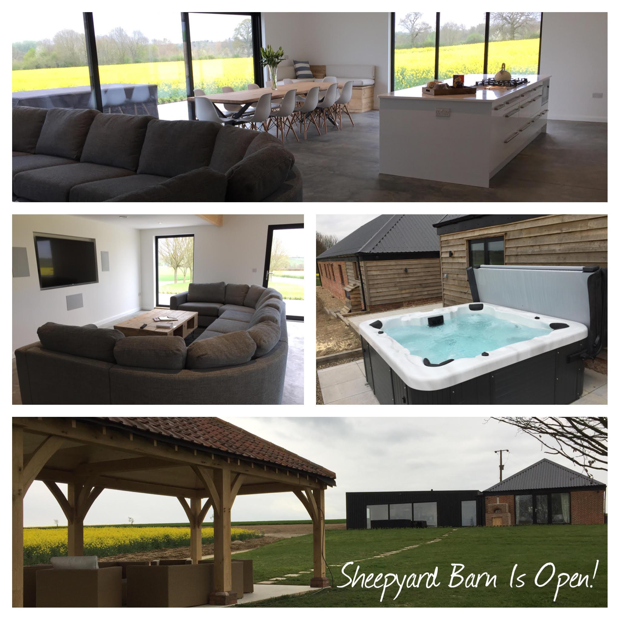 Sheepyard Barn is Open