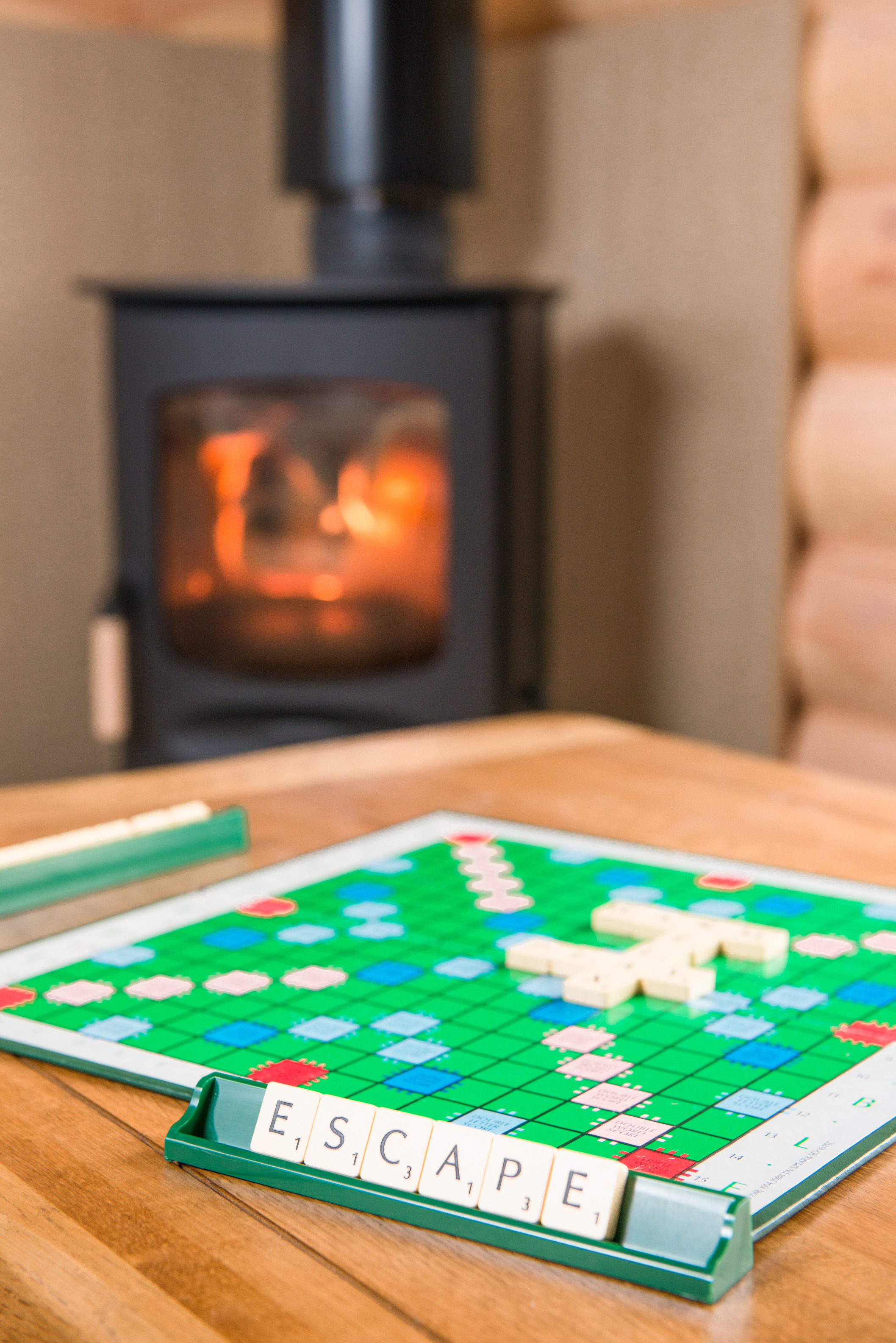 Escape with a Log Fire