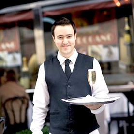 suffolk eating out waiter