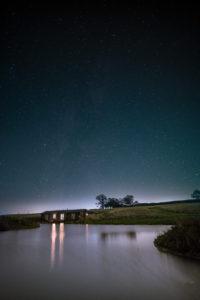 Stars-over-Lake