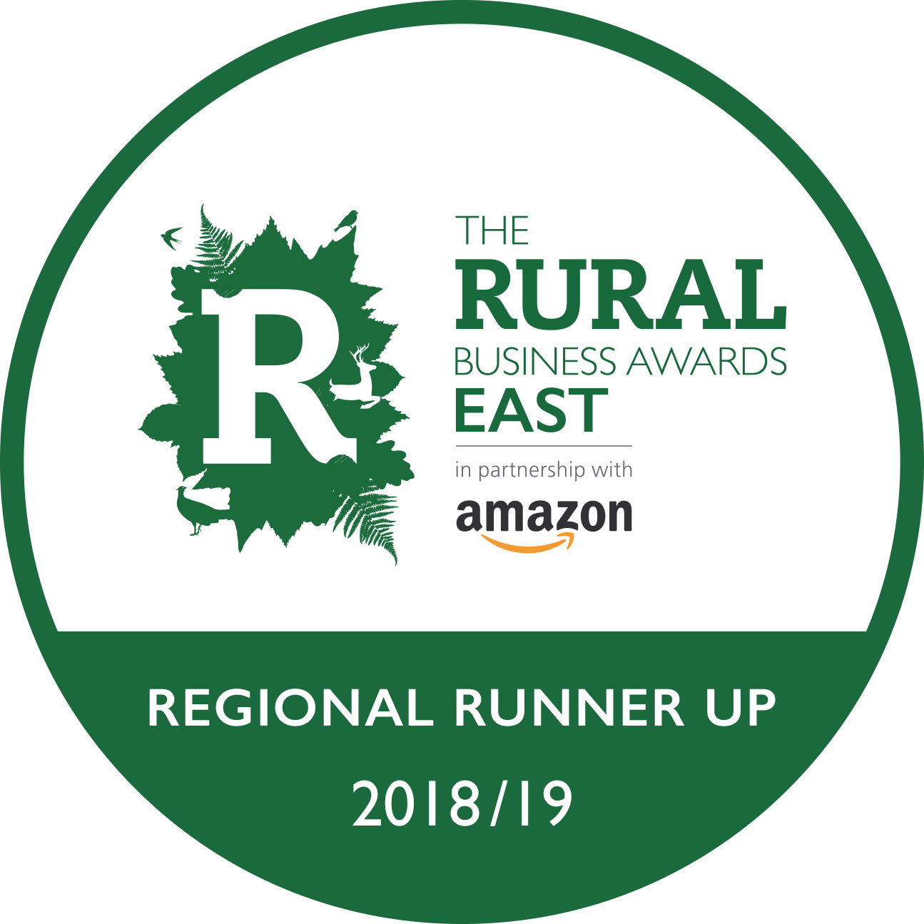 Regional Runner Up East 2018_19_green CMYK