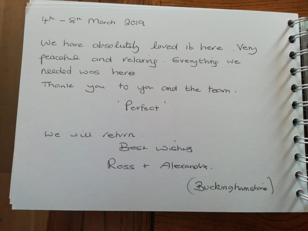 Review of The Suffolk Escape log cabin
