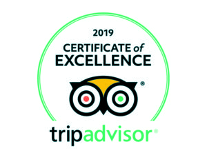 The Suffolk Escape earns sixth Certificate of Excellence from Trip Advisor for 2019
