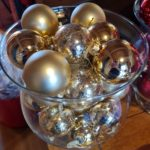 Baubles in a vase