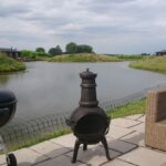 Lake View with BBQ & Chiminea