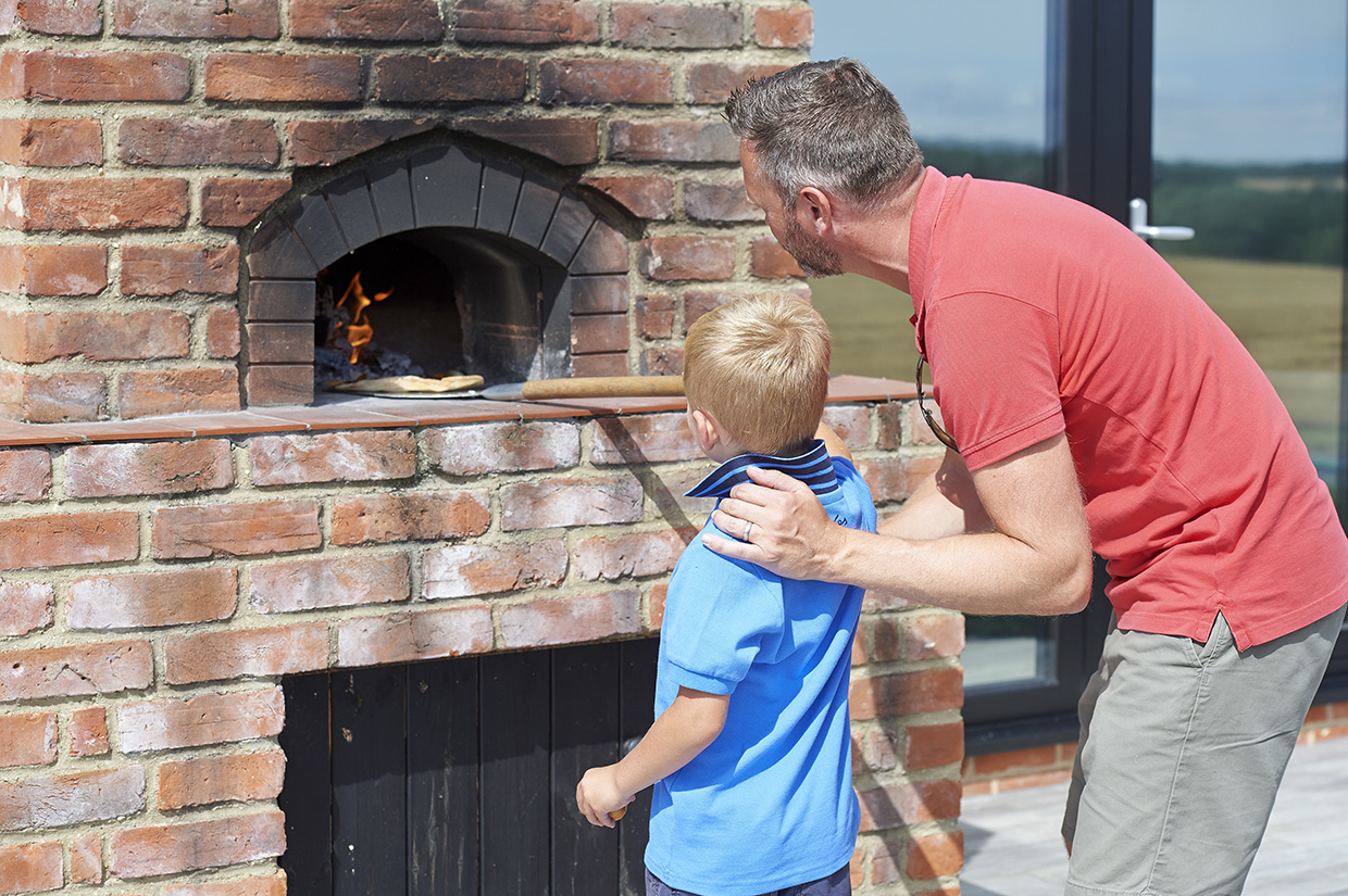 Wood-Fired Pizzas at the Barn